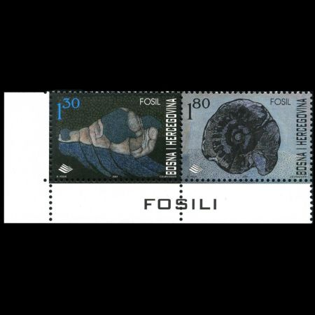 Archeological treasure - Ravlica cave on stamp of Bosnia and herzegovina 2010