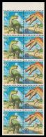 Mint booklet with dinosaur stamps from 1999