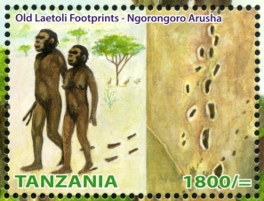 Laetoli hominids and their footprints
