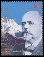 Dr. Francisco Pascasio Moreno on stamp of Argentina 2002
