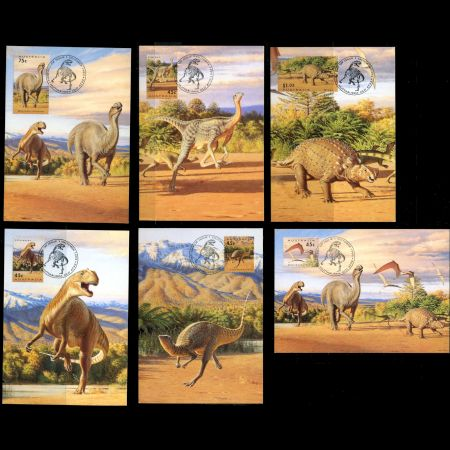 Dinosaur era stamps in Presentation Pack of Australia 1993