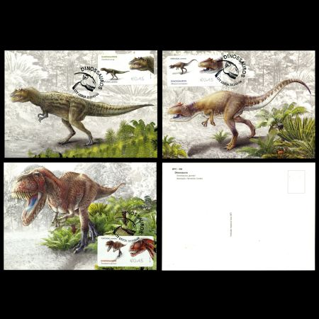 Dinosaurs stamps of Portugal 2015