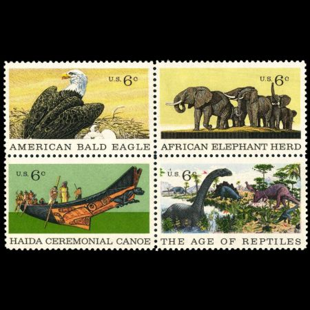 Centenary of American Natural History Museum stamps of USA 1970