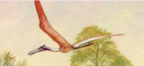 Quetzalcoatlus on stamps of USA 1997