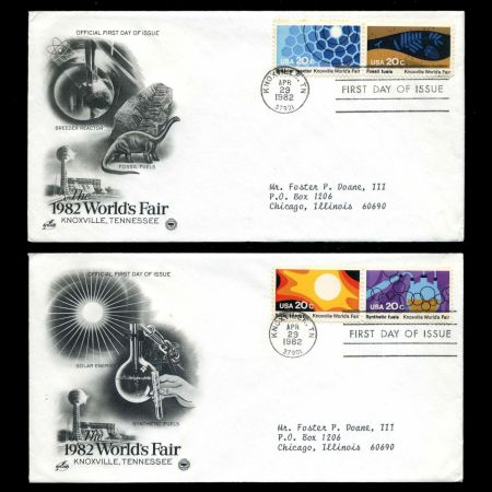 Knoxville International Energy Exposition on FDC of USA 1982