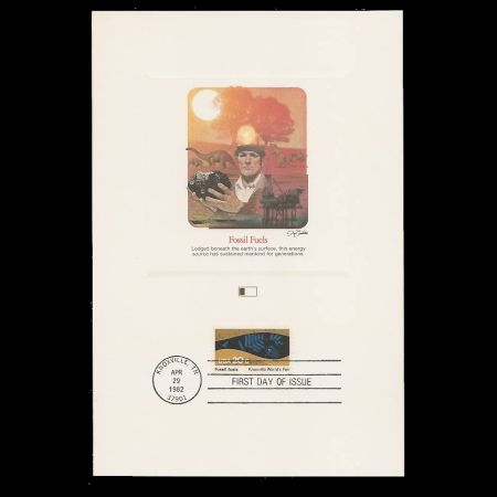 Knoxville International Energy Exposition on souvenir sheet of USA 1982