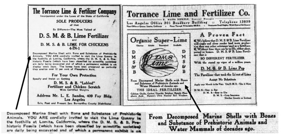 Ads of Torrance Lime & Fertiliser Company