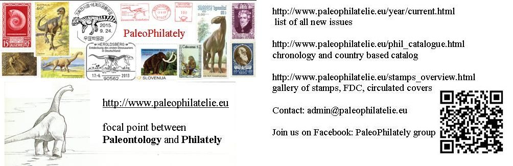 Visit Card of PaleoPhilately website