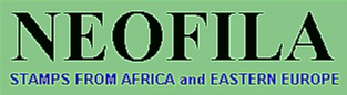 Neofila - stamp dealer with big choice of African and Asien stamps
