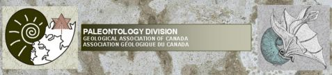 PALEONTOLOGY DIVISION - Geological Association of Canada