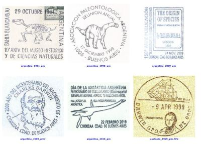preview of Commemorative Postmarks related to Paleontology