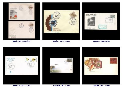 preview of post stationary, post cards and some post marks  related to Paleontology