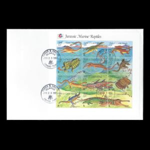 FDC of Turks_and_Caicos_islands_1995_fdc