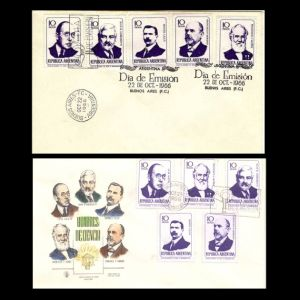 FDC of argentina_1966_fdc