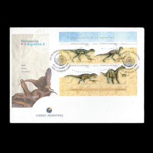 FDC of argentina_1998_fdc