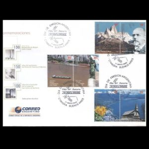 FDC of argentina_2002