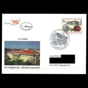 FDC of austria_1999_fdc_used