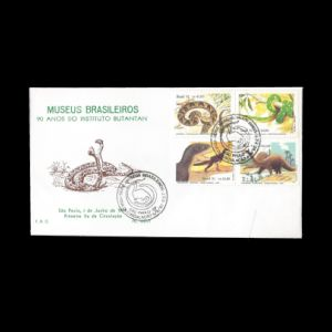 FDC of brazil_1991_fdc2