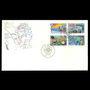FDC of canada_1989
