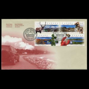 FDC of canada_1998_fdc