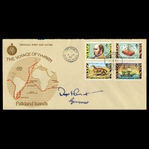 FDC of falkland_isl_1982_fdc_signed