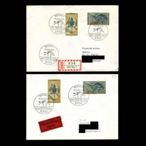 FDC of germany_1978_env_used