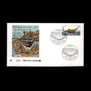 FDC of germany_1998_fdc