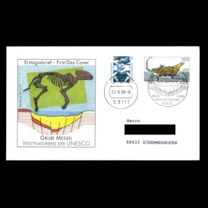 FDC of germany_1998_fdc_used