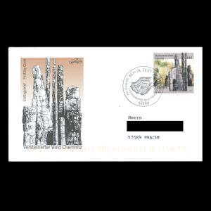 FDC of germany_2003_fdc_private_used