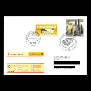FDC of germany_2003_fdc_used1