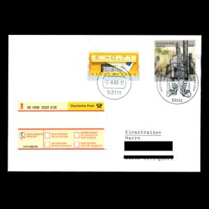 FDC of germany_2003_fdc_used2