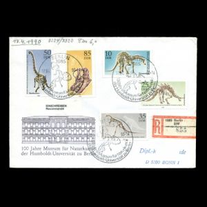 FDC of germany_ddr_1990_fdc_used1