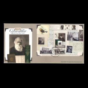 FDC of gibraltar_2009_darwin_ms_fdc