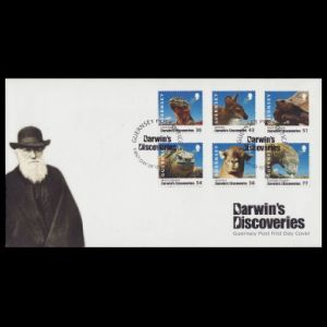 FDC of guernsey_2009_fdc_darwin