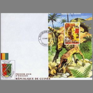 FDC of guinea_1998_fdc