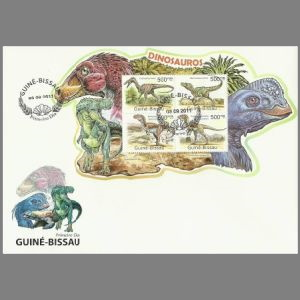 FDC of guinea_bissau_2011_fdc