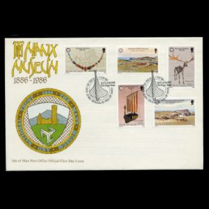 FDC of isle_of_man_1986_fdc