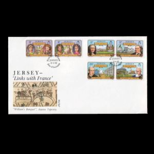FDC of jersey_1982_fdc