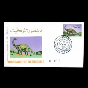 FDC of morocco_1988_fdc
