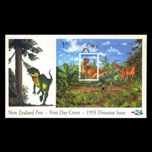 FDC of new_zealand_1993_bl