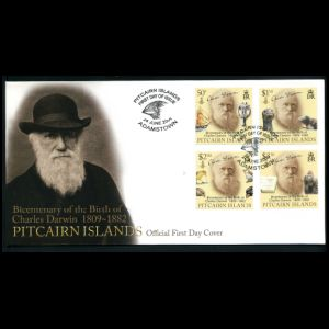 FDC of pitcairn_islands_2009_darwin_fdc