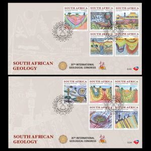 FDC of south_africa_2016_fdc