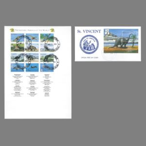 FDC of st_vincent_1999_fdc