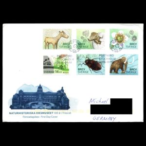 FDC of sweden_2016_fdc_used