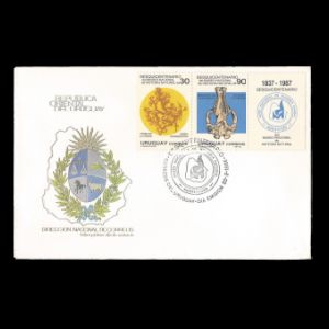 FDC of uruguay_1988_fdc