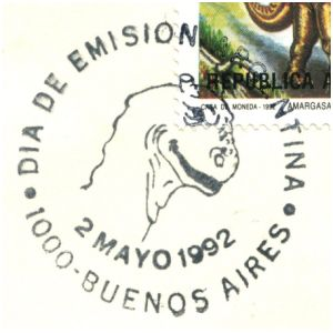 argentina_1992_pm_fdc stamps