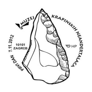 Paleophilatelie eu - paleontology stamps of Croatia
