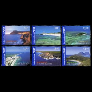 Fossil found places on stamps of Australia 2007