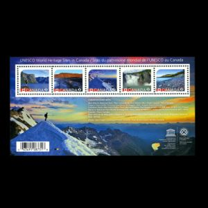 UNESCO World Heritage Sites stamps of Canada 2014