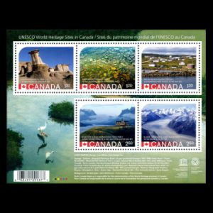 wrong image of Dinosaur provincial park on stamps of Canada 2015